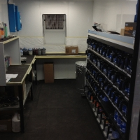 Inside of Paint Mixing Room