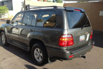 2001 Toyota Landcruiser after