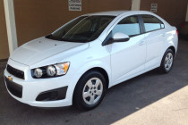 2013 Chevy Sonic after