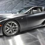 Lexus_LFA_Matte_Black_on_turntable